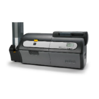 Front view of the ZXP Series 7 Card Printer
