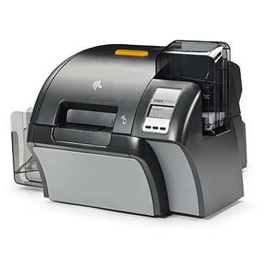 Front view of the ZXP Series 9 Card Printer