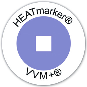 HEATmarker VVM+ vaccine vial monitors