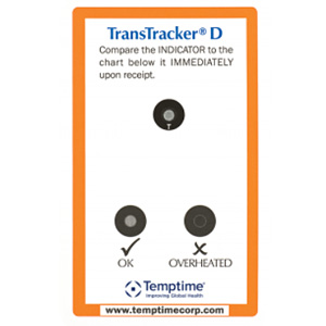 TransTracker D heat shipment indicator