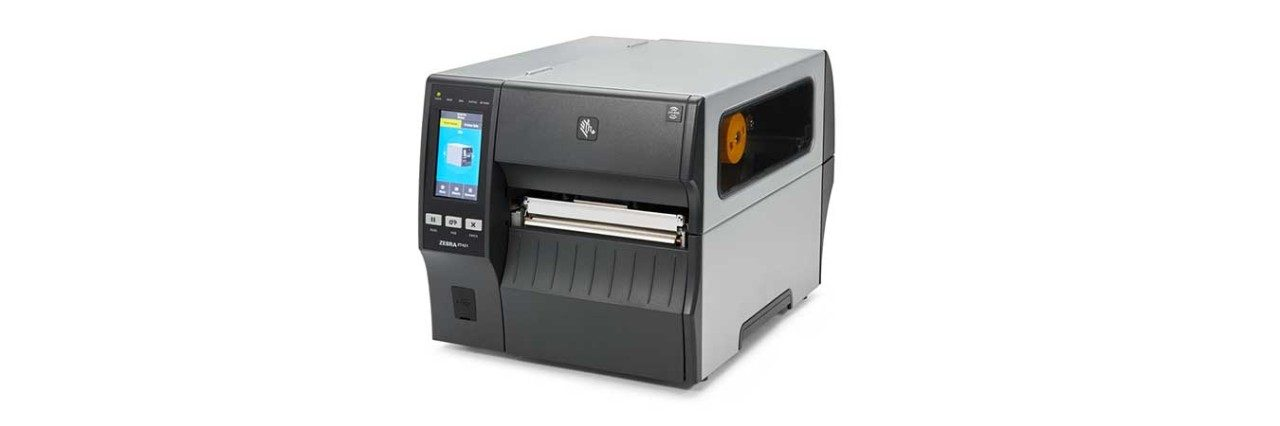 ZT421 RFID Printer, Left View