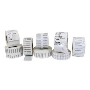 Rolls of Zebra RFID labels